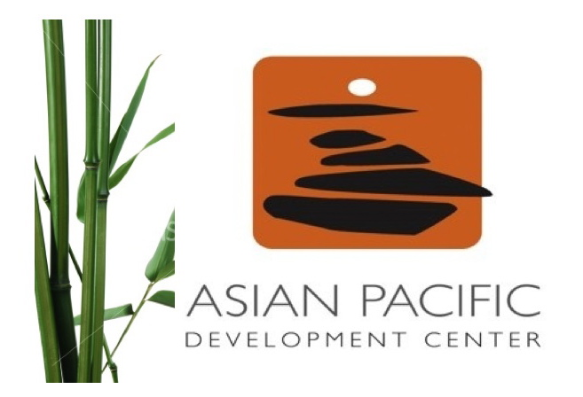 logo with bamboo