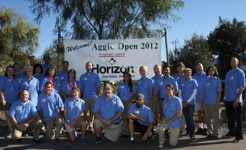 Aggie Open 2012 volunteers
