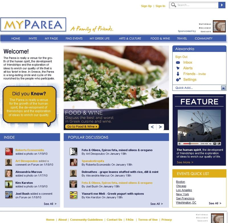 MyParea Screenshot