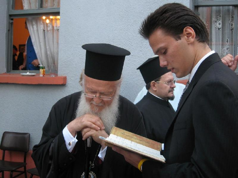 His All Holiness and Student Reading