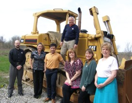Groundbreaking ffor Plant Expansion