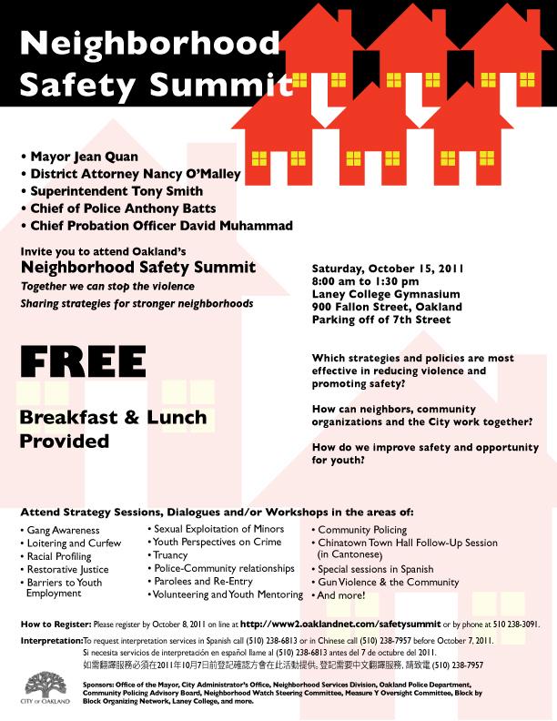 Public Safety Summit