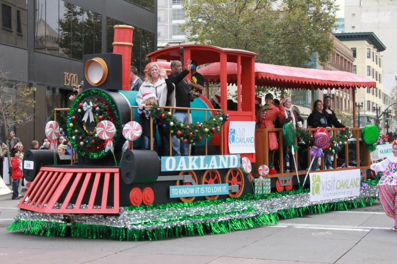 Visit Oakland Train