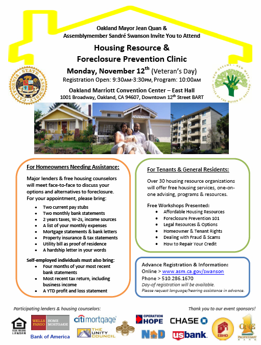 Foreclosure Clinic