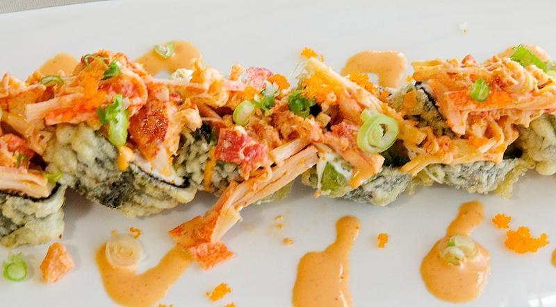 Ronaldo roll sushi