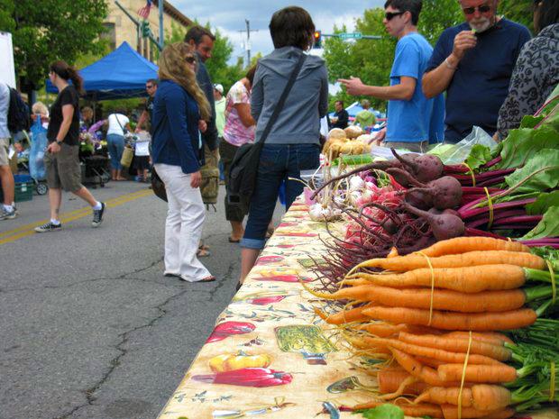 Downtown Coeur d'Alene farmers market