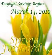 March Spring Forward