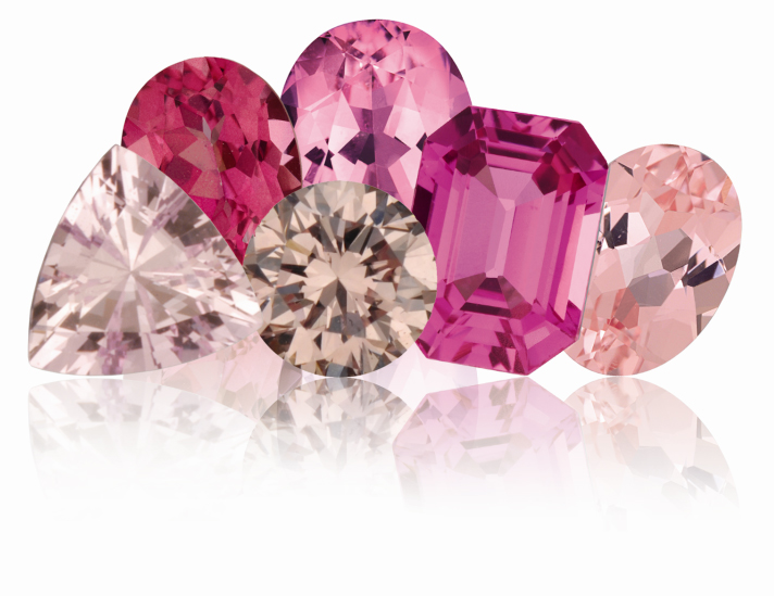 Pink Gemstones HOT!