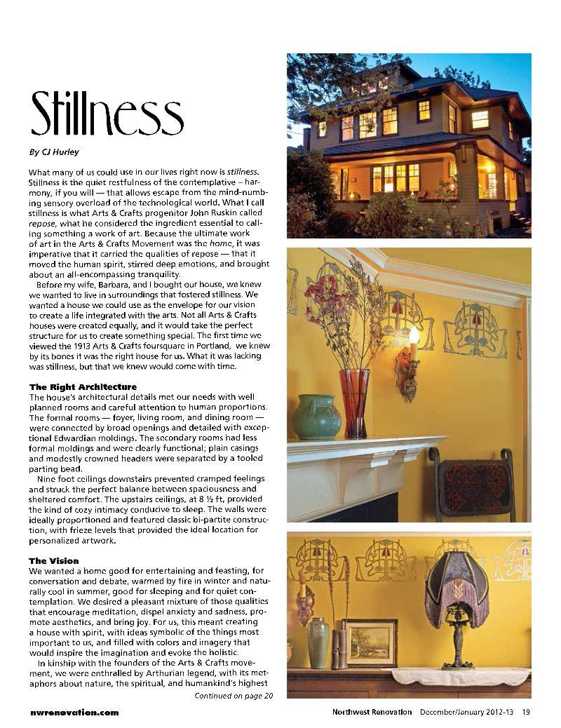 Stillness Article