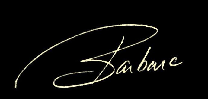 Barbara Pierce Signature