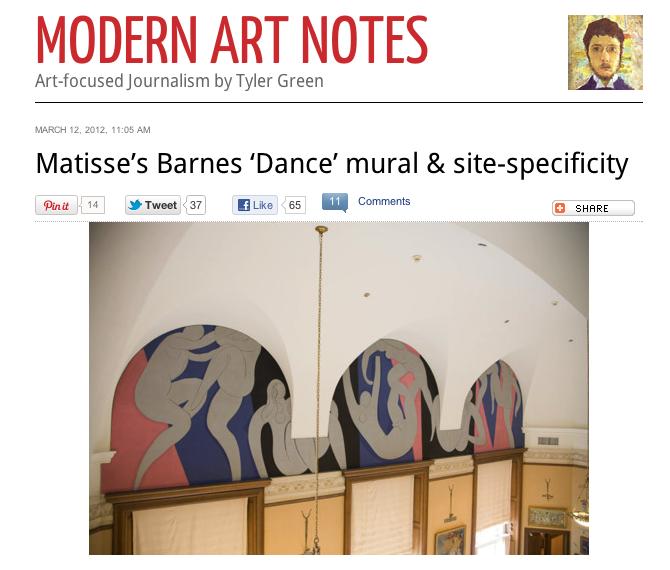 Matisse Blog