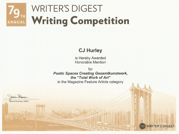 WritersDigestAward