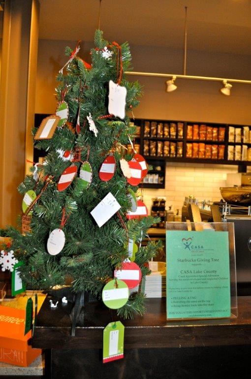 Starbucks giving tree