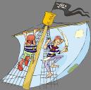 Pirates on sail