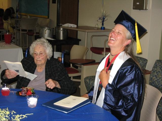 Graduation - Darcy & Betty