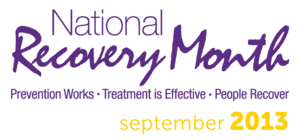 Logo for National Recovery Month