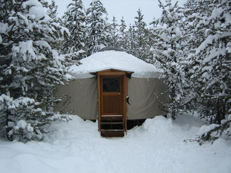 Get Away To One Of The Galena Lodge Yurts.