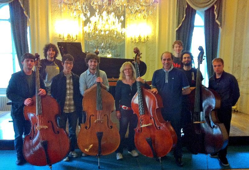 Christine Hoock masterclass in Trieste Italy
