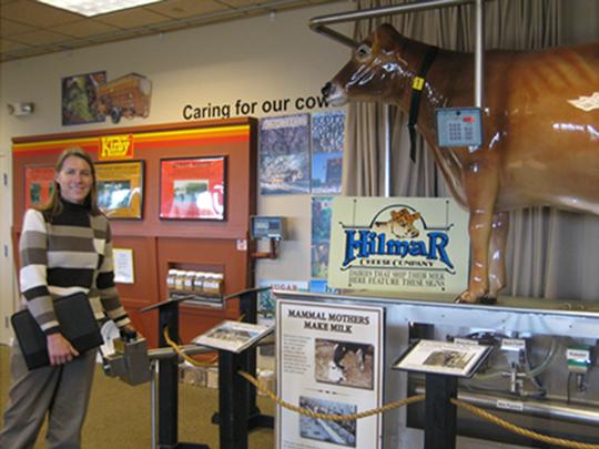 Hilmar Educational display