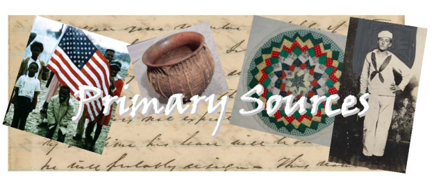 Primary Sources Banner 2011
