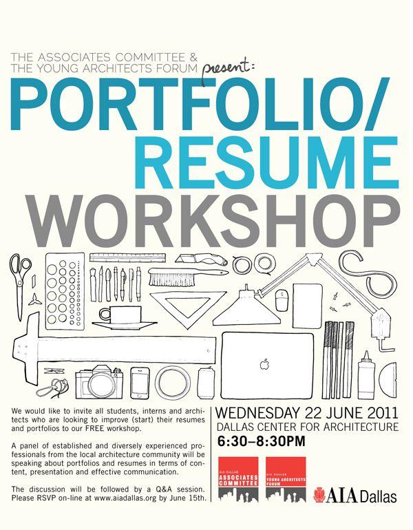 assoc and yaf portfolio resume workshop - Resume Workshop
