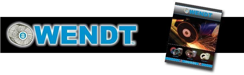 WENDT Catalog 2013 Header