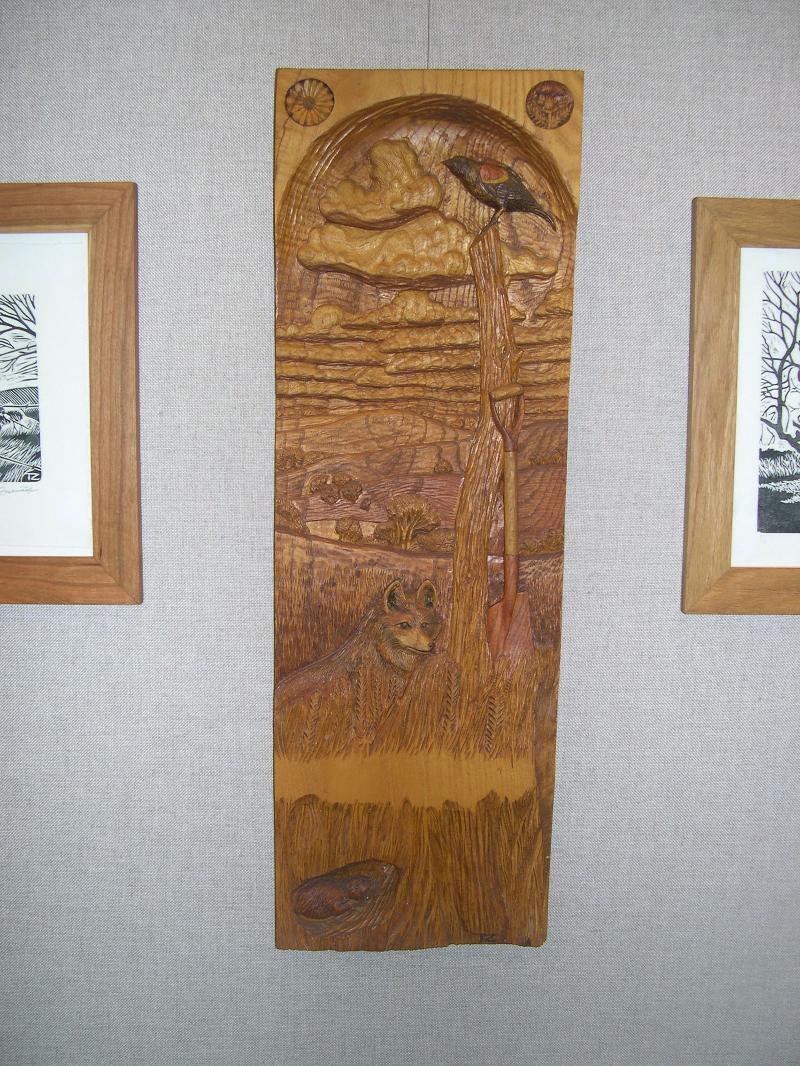 2010 rain barrel auction