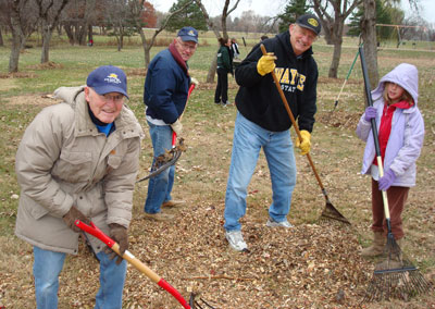 Roper Park Winter Cleanup