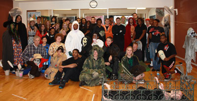 F Street Halloween Carnival & Haunted House group picture