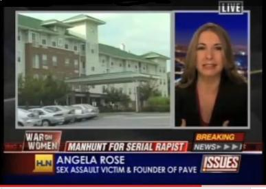 Angela Rose on CNN's HLN