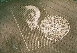 crop circle ailen