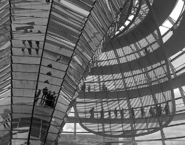 Reichstag Dome by Lew Hann