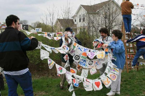 Peace Flag Scene 1