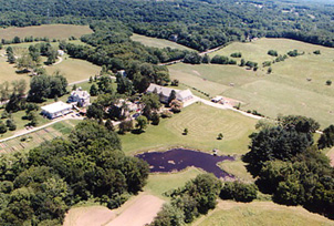 Grailville air view