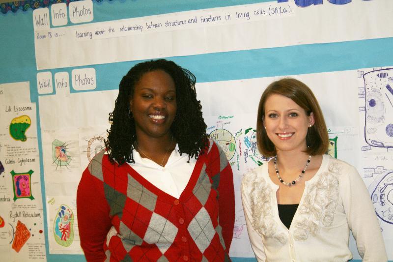Teacher Resident Julia Pendexter and Mentor