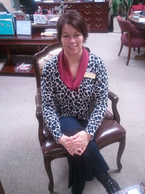 Lynn Johnson, Principal,  Mimosa ES