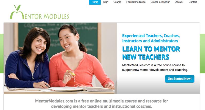 Mentor Modules Screen Shot