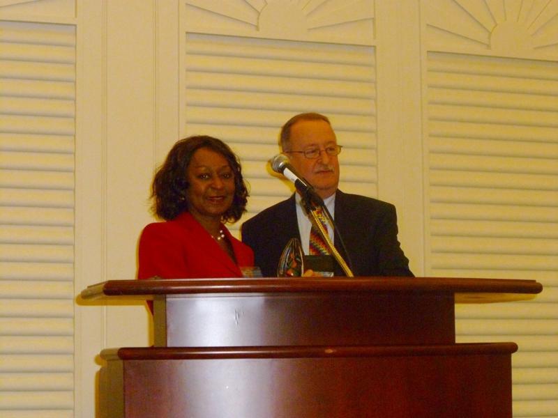 NAPDS Award Dr. Benson