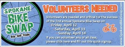 Bike Swap Volunteers Needed