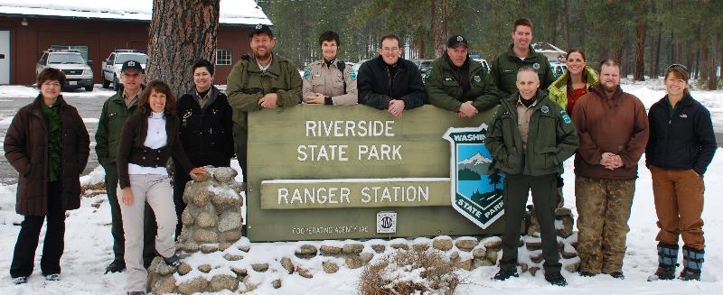 Riverside State Park Rangers