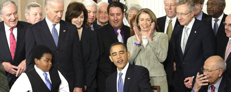 Health care bill signing, March 23, 2010