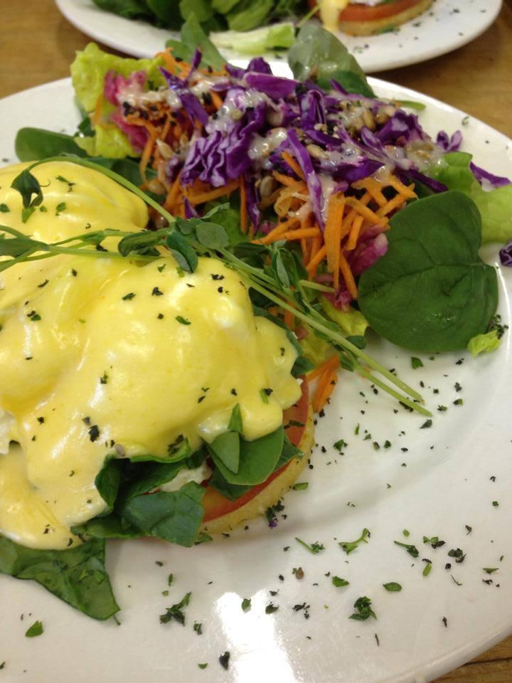 Healthy Comfort Food - Eggs Benny