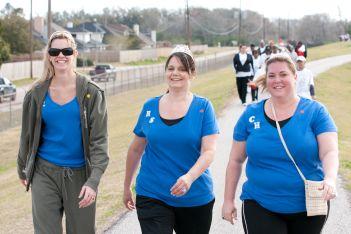 walkathon blue team