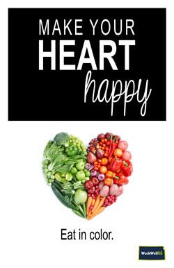 Heart Happy Poster