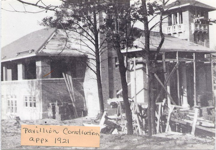 Pavillion construction