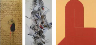 Reminiscence of Calligraphy in contemporary art