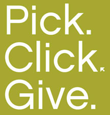 pick.click.give. icon