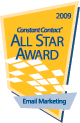 2009 Constant Contact All-Star Email Marketing Logo