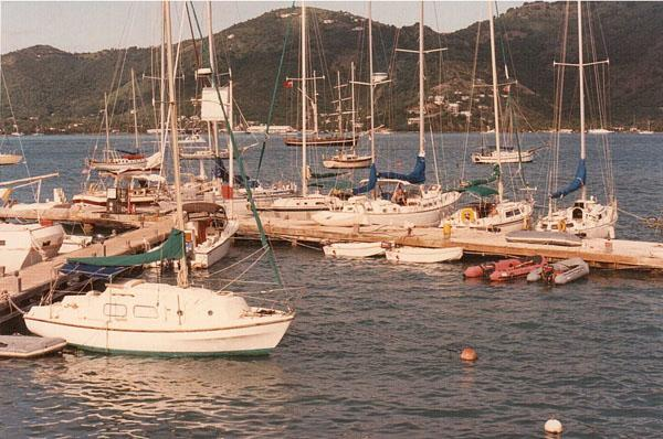 Conch Dock in 1987