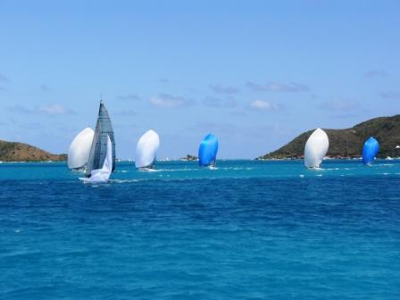 The Melges 32 racing